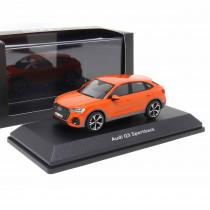 Audi Q3 Sportback 1:43 Pulsorange Modellauto 5011903631 iScale Miniatur Orange Original