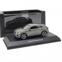 Audi Q3 Sportback 1:43 Chronosgrau Modellauto 5011903632 iScale Miniatur Grau Original