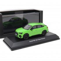 Audi RS Q3 Sportback 1:43 Kyalamigrün Modellauto 5012013631 Minichamps Miniatur Grün Original