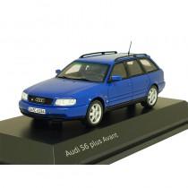 Audi S6 plus Avant C4 1:43 Nogaroblau