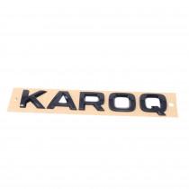 Skoda Karoq Schriftzug Schwarz Emblem Logo Heckklappe Hinten 57A853687D 041