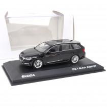 Skoda Octavia Combi A8 1:43 Black Magic 5E7099300 F9R Modellauto Miniatur Original Neu
