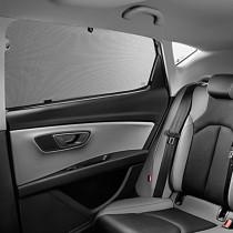 Seat Leon 5F Sonnenschutz 2er Set Seitenfenster hinten Scheiben Blenden Schutz 5F0064365A Zubehör