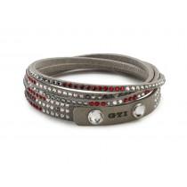 VW GTI Alcantara Armband 5GM050850 Swarovski Kristalle Bracelet NEU