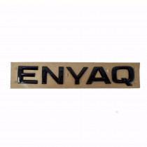 Skoda Enyaq Schriftzug Schwarz Hochglanz Logo Zeichen Emblem 5LG853687A 041
