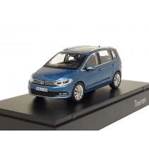VW Touran II 1:43 Caribbean Blue Metallic 5TB099300 Q5Y Modellauto