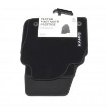 Skoda Textilfußmatten Set Premium KAMIQ vorn hinten Prestige Stoffmatten Original 658061270