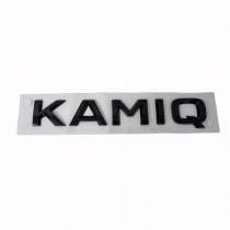 Skoda Kamiq Schriftzug Schwarz