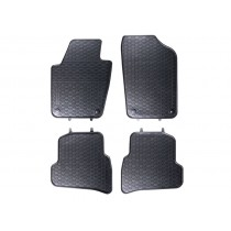 Gummifussmatten Satz VW Polo V 6R vorn hinten Gummimatten Gummi Fußmatten Matten