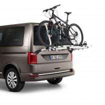 VW Original T6 Fahrradträger Heckklappe für 4 Fahrräder Träger 7E0071104 Multivan Transporter Caravelle California T6.1
