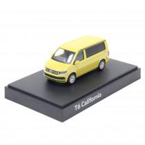 Modellauto VW T6 California Gelb