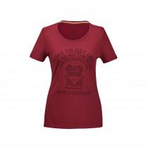 VW Damen T-Shirt T1 Bulli T Shirt Bordeaux 7E9084210  645 7E9084210A 645 7E9084210B 645 7E9084210C 645 7E9084210D 645 7E9084210E 645 Gr. XS S M L XL XXL