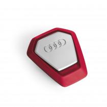 Audi Singleframe Duftspender, rot raue und wilde Küstenlandschaft