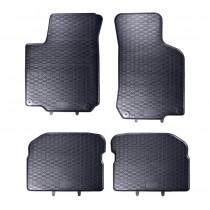 Gummifussmatten Satz VW Golf 4 Bora vorn hinten 4-tlg. Gummimatten Fußmatten Octavia Leon Original Qualität Matten 1J1061501A 1J0061511