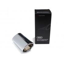 Audi Original Q2 Endrohrblende 81A071771 Chrom Auspuffblende Endrohr