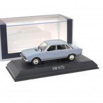 VW K70 Light Blue Metallic 1:43 Norev 840097 1/43 Modellauto Miniatur Blau K 70 Original 3551098400977