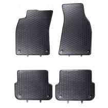 Gummifussmatten Audi A6 4F vorn hinten Satz 4-tlg. Gummimatten Fußmatten Matten 4F1061501 041 4F0061511A 041 Original Qualität Geyer Hosaja 840/4C