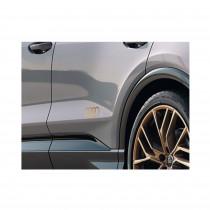 Original Audi Q4 e-tron Sportback Dekorfolien Audi Ringe Bronze Matt 89A064317 50C
