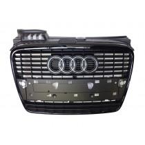 Audi Original A4 8E B7 Kühlergrill schwarz glänzend Grill Schwarz Paket 8E0853651J VMZ