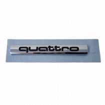 Audi Quattro Schriftzug Heckklappe Emblem Hinten Selbstklebend 8H0853737 2ZZ