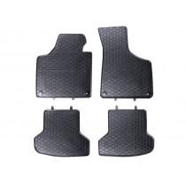 Gummifussmatten Satz Audi A3 8P vorn hinten Gummimatten Gummi Fußmatten