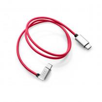 Ladekabel USB Type-C auf USB C Audi Ladeadapter USB Kabel 63 cm Rot 8S0051435L