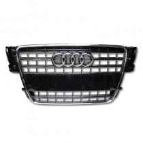 Audi Original A5 8T Kühlergrill schwarz glänzend