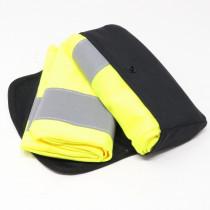 2 Stück Audi Warnweste gelb in Aufbewahrungstasche