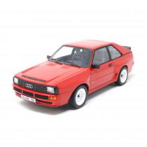 Audi Sport quattro Tornadorot 1:18 Modellauto Klassiker Miniatur Modell Rot 1985 Original Tradition Norev