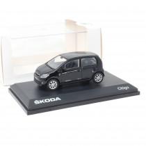 Skoda Citigo 1:43 Modellauto Deep Black Perleffekt Miniatur 1/43 Schwarz MVF25-801