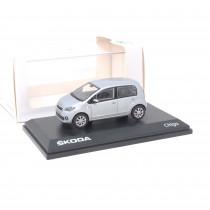 Skoda Citigo 1:43 Modellauto Brillant Silver Miniatur 1/43 Silber MVF25-802