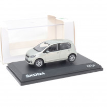 Skoda Citigo 1:43 Modellauto Silver Leaf Metallic Miniatur 1/43 Silber MVF25-803