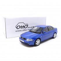 Audi S4 Limousine 2.7 Biturbo 1:18 Modellauto Nogaro Blau Miniatur 1/18 Blue