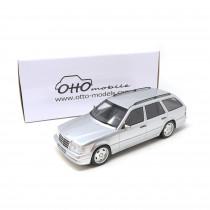 Mercedes-Benz S124 E36 AMG 1:18 Modellauto Brilliant Silber Miniatur 1/18 Silver Ottomobile OT889