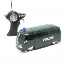 VW T1 Polizei RC Modellauto 1:24 Bulli Samba Ferngesteuert Maisto Tech Van Original
