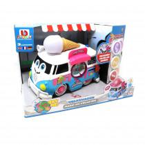 Volkswagen Magic Ice Cream Bus Spielzeugauto mit Sound und Licht VW 3 Sprachen 16-88610 Z 058729 ICE
