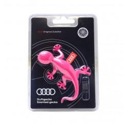 Audi Duftgecko blumig süß 000087009AC pink Auto Duftspender Duft