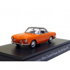 VW Typ 34 Karmann Ghia 1600 Coupé 1961 Nepalorange 1:43