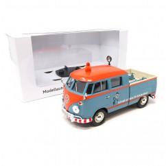 """VW T1 Pickup """"Kundendienst"""" Servicewagen 1:24 Bulli Modellauto Miniatur Original"""