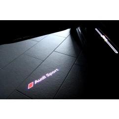 Audi LED Einstiegsleuchten Audi Sport Türeinstiegsbeleuchtung