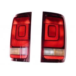 """VW Original Amarok """"Dark Label"""" Rückleuchten abgedunkelte Heckleuchten Rücklicht"""