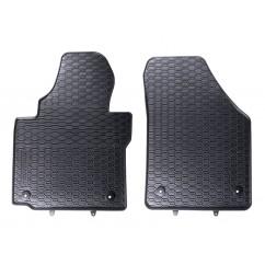 Gummifussmatten VW Caddy vorn 2K 4 Gummimatten Gummi Fußmatten Matte Fussmatte Fußmatten