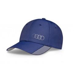Audi Baseballcap Premium Blau 3131701700 Mütze Hut Kappe Cap Ringe