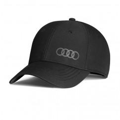 Audi Baseballcap Premium Frequenz schwarz 3131800100 Cap Mütze Hut Kappe