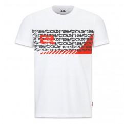 Audi e-tron Herren T Shirt S M L XL XXL Weiß T-Shirt Hemd