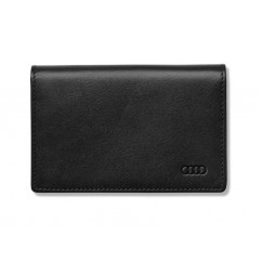 Audi Leder Visitenkartenhalter schwarz 3141700300 Kartenhalter Kreditkartenetui