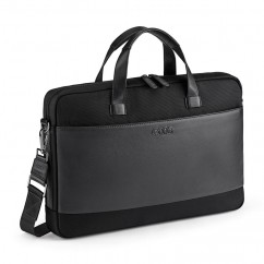 Audi Businesstasche Schwarz 3151900900 Leder Tasche Aktentasche Notebooktasche Original