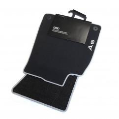 Audi A6 Textilfußmatten Premium 2 tlg. 4G1061275 MNO Velours Stoffmatten vorn