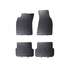 Gummifussmatten Satz Audi A6 A7 4G vorn hinten Gummimatten Gummi Fußmatten Matten