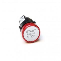 """Audi A6 A7 Start Stop Schalter 4G1905217D """"S"""" Variante roter Ring Druckschalter Engine"""
